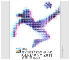 Poster FIFA Frauen-Weltmeisterschaft