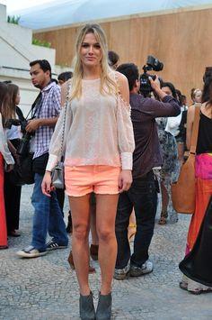 Fiorella Mattheis at Fashion Rio