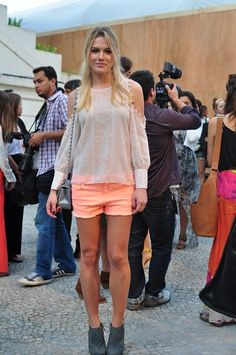 Fiorella Mattheis at Fashion Rio