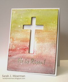 Created by Sarah Moerman using brand new Simon Says Stamp from the Hop To It release.