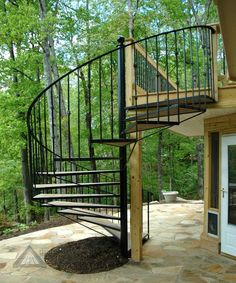 Best Exterior Spiral Stairs Add A Modern Flair To Your Multi 640 x 480