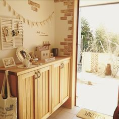 Diy Interior, Home Interior Design, Dining Room Design, Kitchen Design, Sewing Spaces, Model Homes, Sweet Home, Bedroom Decor, Home And Garden