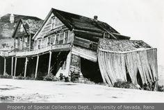 Occidental Hotel in ruins, Virginia City, Nevada