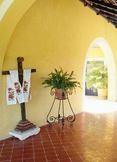 Hacienda Style, beautiful foyer