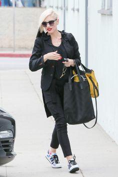 Gwen Stefani heads to a meeting in Santa Monica, 11th June 2015.