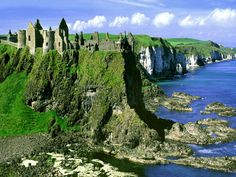 Dunluce Castle in Ireland, close to Giant's Causeway. Loved it.