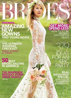First Look At Brides August September 2017 Cover