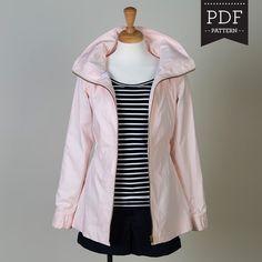 minoru Jacket. 15 weitere Schnittmuster für Jacken in diesem Blogpost
