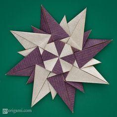 Rosa dei venti (Paolo Bascetta) squares, 8 units, no glue