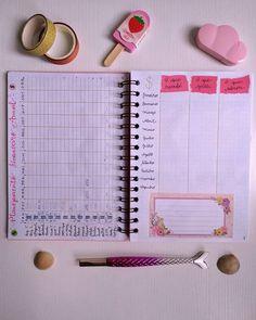 começou o #BulletJournal2020 Então segue como está ficando o meu para te inspirar. planejamento financeiro anual. #planner organização de tarefas Bujo, Bullet Journal, Planner, Notebook, Financial Planning, Yearly, Notebooks, Scrapbooking