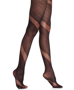 Jessica Simpson Wrap Lace Sheer Tights