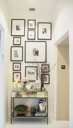 Creating a Gallery Wall - Beneath My Heart
