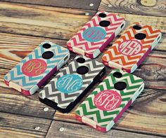 Chevron Otterbox case.... I would honestly buy one if it wasn't so expensive.. Sooooo cute!!!