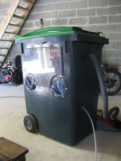 CitroWest, Les Chevrons Bretons :: fabrication d'une cabine de sablage pour pas cher du tout !