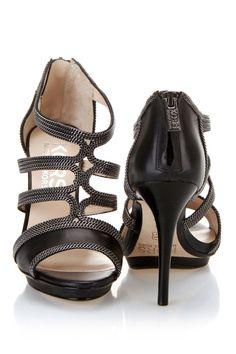 KORS Michael Kors Lyra Sandals In Black - Beyond the Rack