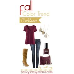 A fashion look from October 2012 featuring purple t shirt, dark blue jeans and slouch boots. Browse and shop related looks.