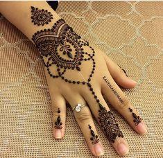 Beautiful and Easy Mehndi Design Collection, Heena and Arabic Mehndi Design - Fashion Pretty Henna Designs, Finger Henna Designs, Henna Tattoo Designs Simple, Beginner Henna Designs, Henna Art Designs, Mehndi Designs For Fingers, Best Mehndi Designs, Mehndi Designs For Hands, Mehandi Designs