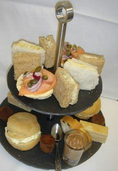 Champagne Afternoon Tea! https://www.facebook.com/106995292674774/photos/a.337530956287872.80229.106995292674774/453943264646640/?type=3
