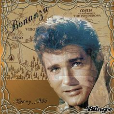 """Bonanza - Little Joe (Michael Landon) He could produce the best """"man tears"""" EVER! Old Movies, 1990 Movies, Joe Francis, Bonanza Tv Show, Michael Landon, Tv Show Games, Tv Westerns, Old Tv Shows, French Films"""