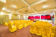 Welcome to Ganesh Hall this hall is suitable for 175-200px people, U set up(45-50pax) and  round table is available for (80pax)