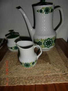 Bavaria Mitterteich Kaffeekanne Kanne Milchkännchen Zuckerdose   eBay