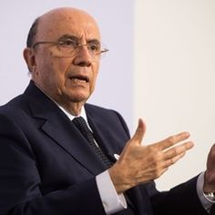 Brasilian finance minister Henrique Meirelles speaks in a press conference at G20 financial summit