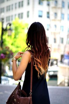 Trendy Hair Style 2017/2018 :    Ombré.  - #HairStyle https://youfashion.net/trends/hair-style/trendy-hair-style-ombre-5/
