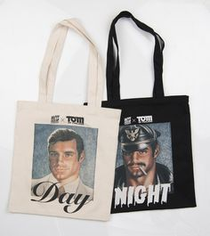 Tom of Finland X Happy Hour Skateboards Tote Bag: Day