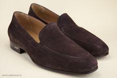 Brown moccasins for men. - Mocassini color testa di moro. http://store.pakerson.it/man-moccasins-32010-testa-di-moro.html