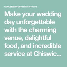Make your wedding day unforgettable with the charming venue, delightful food, and incredible service at Chiswick Woollahra. Contact our team for enquiries. Create A Signature, Great Conversation Starters, Signature Cocktail, Most Romantic, Wedding Trends, Compliments, How To Memorize Things, Wedding Day, The Incredibles
