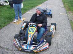Drew Charlson in one or Gordin racing karts