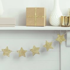 Are you interested in our Gold Star Bunting * Wooden Bunting? With our Christmas Bunting * Glitter Bunting you need look no further.