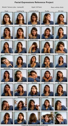 Tammy's facial expressions by tamaraR on DeviantArt