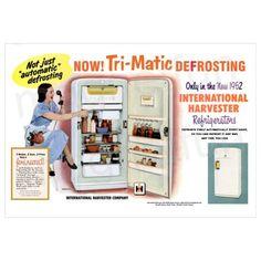 International Harvester Refrigerators Freezers International Harvester Vintage Appliances Harvester