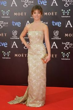 Marta Etura in Lorenzo Caprile - Goya Awards Red Carpet 2014