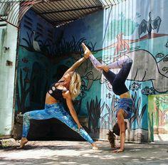Acro Yoga Inspiration (@bananablondie108 & @hannahmcneely)