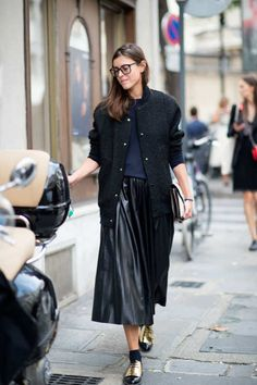 No. 9 — Glasses Girl - Street-Style Best Dressed: PFW, Part 1 - The Cut
