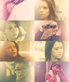 Tatiana Maslany in Orphan Black- she is phenomenal. If you are not watching, you are missing out.
