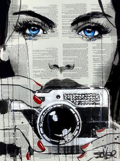 Find the ultimate pop art essentials for your mid-century home decor Arte Pop, Journal D'art, Pop Art, Art Du Collage, Newspaper Art, Art Watercolor, Painting & Drawing, Amazing Art, Urban Art