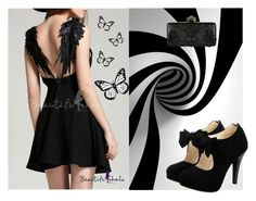 """""""dark_floral_beauty"""" by schwarz1 ❤ liked on Polyvore featuring Alexander McQueen"""