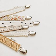 These pretty pacifier clips make a great baby shower gift!