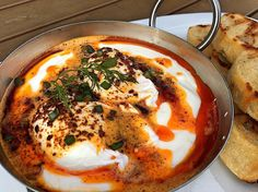 Join us for brunch today #turkisheggs #turkishcuisine #eatguidenapa #visitnapavalley #donapa by tarlagrill
