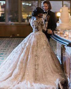 Take my breath away...the dress Interracial Wedding Ideas 21e9847cd8b9