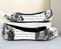 Musketeer Boots Trends - Romeo and Juliet William Shakespeare Literature by custombykylee, $50.00 Musketeer boots have become a must that everyone wants to wear. This autumn you can not miss in your closet and we have found 11 mosqueteras boots ideal for every occasion.