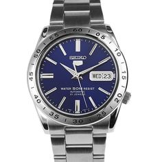 Seiko 5 Sports Mens Watch - Men's style, accessories, mens fashion trends 2020 Sport Watches, Cool Watches, Rolex Watches, Luxury Watches, Cheap Watches, Mens Watches For Sale, Vintage Watches For Men, Elegant Watches, Beautiful Watches