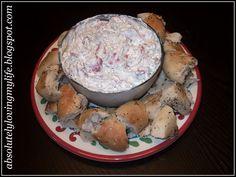 Bagel Dip- same recipe my Aunt makes. Very good!