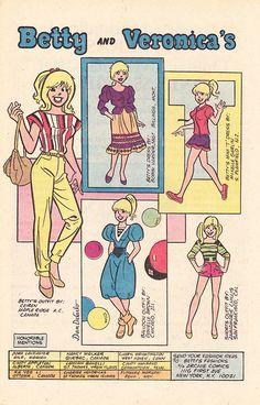 Betty Cooper, Archie Comic Publications, Inc. https://www.pinterest.com/citygirlpideas/archie-comics/