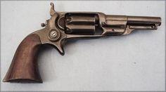 Revolver COLT Root modèle 1855, side hammer pocket revolver, calibre 31 canon rond de 3, 1/2 pouces