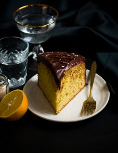 Desserts for Breakfast: Orange-Olive Oil and Chocolate Cake