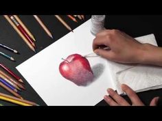 Strathmore's Artist Educator Sarah Becktel shares her tips for blending colored pencils using solvents, making artwork look finished and vibrant. See our pap...